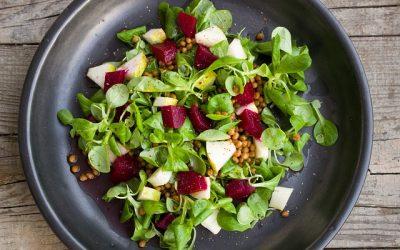 Salade betteraves et fruits